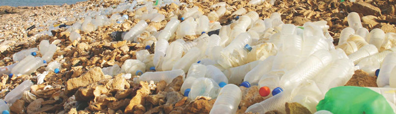 1,500 Plastic Water bottles are thrown <br />into our garbage every second!